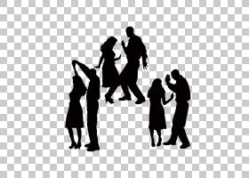 女卡通,黑白,社会群体,招聘人员,公共关系,娱乐,拉丁舞,探戈,舞者
