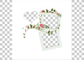 背景花框,矩形,插花,花卉,花盆,花瓣,相框,绘图,中国画,花,水墨画