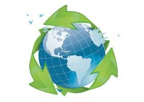 环保地球节能概念主题时尚矢量素材装饰素材