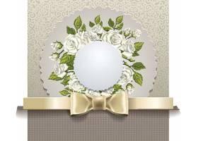 简洁婚礼请柬图片