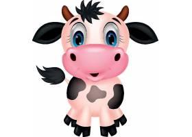 奶牛儿童卡通形象