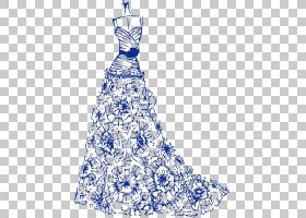 婚纱画,黑白,线路,模式,设计,服装设计,时装设计,电蓝,树,顶部,日图片