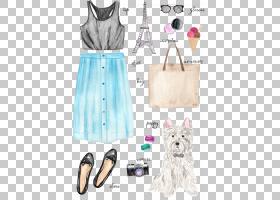 背景海报,服装设计,时装设计,粉红色,外套,裙子,着装,裤子,手提包图片