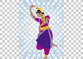 印度设计,紫罗兰,服装,舞者,服装设计,时装设计,紫色,表演艺术,印图片