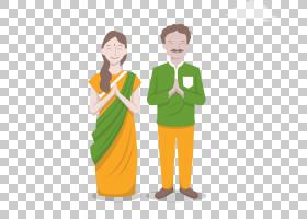 印度女人,外衣,服装,男性,专业,微笑,手指,绿色,关节,手,统一,T恤