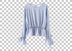 牛仔裤背景,肩部,长袖T恤,颈部,顶部,蓝色,口袋,睡衣,牛仔裤,毛衣