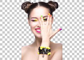 女人脸,指甲护理,手指,眉毛,健康美容,前额,指甲艺术,脸,颜色,睫