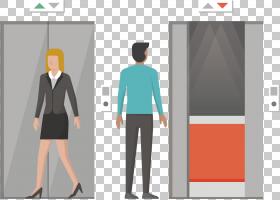 电梯站立,作业,时装设计,统一,站立,公共交通,免费,绘图,平面设计图片