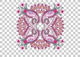 粉红色花卡通,圆,洋红色,主题,身体首饰,首饰,花,视觉艺术,粉红色