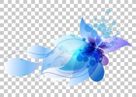 计算机图形蓝色,花瓣,蓝色,图表,WordPress,主题,计算机图形学,