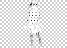 卡通动物形象拟人形时尚潮流插画免扣素材图片