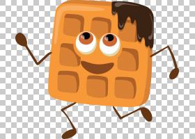 农夫饼Q版食物类卡通形象免扣素材图片