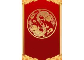 新春中国风海报背景