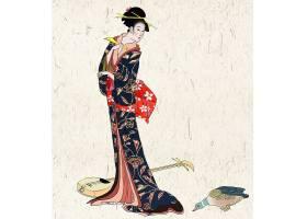 日本女性插画欣赏