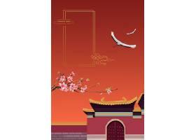 复古中国风国潮经典海报背景图片