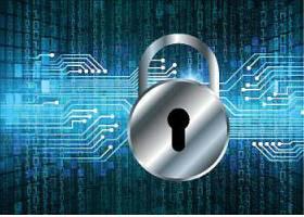 互联网数据化信息安全主题装饰背景