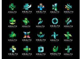 医疗设备医疗机构创意图案标识LOGO