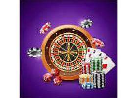 赌博道具背景
