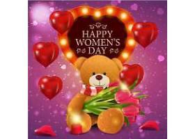 妇女节促销插图