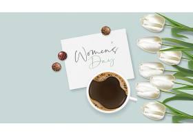 妇女节和郁金香