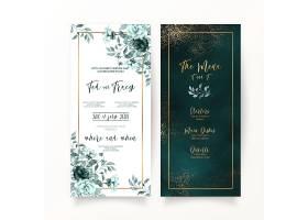 婚礼请柬装饰模板