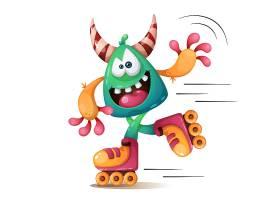 卡通怪兽形象角色设计