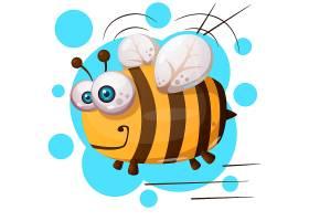 卡通蜜蜂形象角色设计