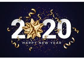 高清2020年新年快乐主题素材