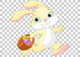 复活节彩蛋卡通,鼻子,猫,胡须,尾巴,花,黄色,野兔,鸡蛋装饰,卡通,