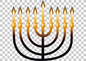 犹太人,线路,烛台,光明节,符号,蜡烛,犹太人,烛台,