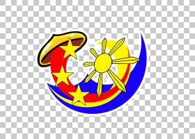 花卉图画,圆,符号,线路,面积,花,黄色,旗帜,徽标,绘图,菲律宾国旗