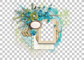 蓝花框,矩形,圆,花,存放文件,图像共和,胶片框,剪贴簿,数字剪贴簿
