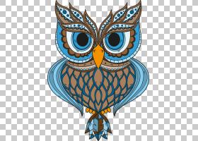 猫头鹰卡通,鸟,喙,猛禽,机翼,视觉艺术,装饰,小猫头鹰,羽毛,复古