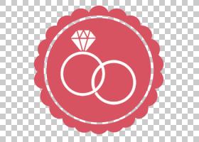 圆形徽标模板,符号,徽标,爱,心,面积,线路,圆,花,红色,色带,婚礼,