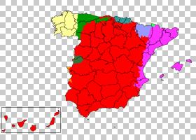 地图卡通,面积,花瓣,地图,花,红色,方言,西班牙人,国语,语言学,标
