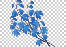 背景花卉,细枝,植物,植物茎,线路,分支,叶,蓝色,花卉设计,花瓣,花