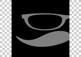 胡须卡通,太阳镜,微笑,线路,眼镜,文本,黑白,黑色,眼镜,Web浏览器