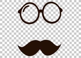 胡须卡通,眼镜,线路,眼镜,文本,太阳镜,胡须,棕色头发,傅满洲胡子