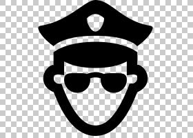 证书背景,眼镜,黑白,线路,微笑,头盔,黑色,眼镜,笑脸,太阳镜,警察