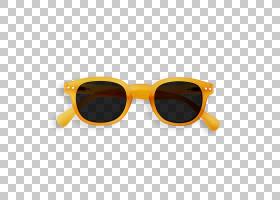 太阳镜卡通,橙色,黄色,服装辅料,镜头,玻璃使用,玩具,兰特・波拉