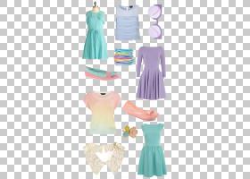 太阳镜卡通,腰部,新娘礼服,绿色,关节,时装设计,黄色,水,日装,桃
