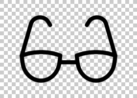 太阳镜剪贴画,符号,微笑,角度,面积,线路,文本,黑白,黑色,眼镜,眼