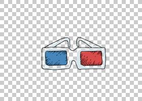 太阳镜剪贴画,红色,线路,矩形,眼镜,蓝色,孩子,镜子,护目镜,可爱,
