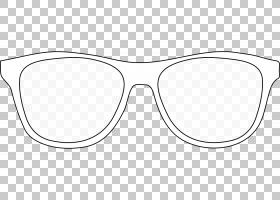 卡通太阳镜,面积,线路,黑白,眼镜,铰链,我的链接,工艺磁铁,线条艺
