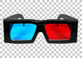 3D背景,红色,个人防护装备,护目镜,塑料,眼镜,蓝色,三维空间,立体