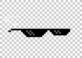 像素艺术徽标,矩形,角度,黑白,线路,文本,黑色,太阳镜,绘图,徽标,