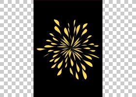 黑白花,黑白,线路,花,黄色,花瓣,对称性,植物群,圣诞节,Windows图图片