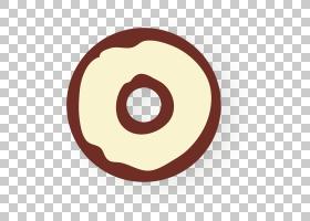 黄色圆圈,线路,圆,符号,黄色,面包,芝麻甜甜圈,早餐,甜甜圈,