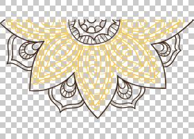 黄色抽象背景,传粉者,符号,圆,面积,机翼,视觉艺术,植物,线路,对