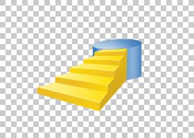 黄色背景,线路,材质,角度,家具,扶手,白色,红色,橙色,楼梯,黄色,